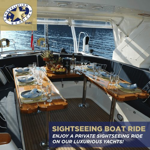 Private Sightseeing Yacht Ride with Constellation Services