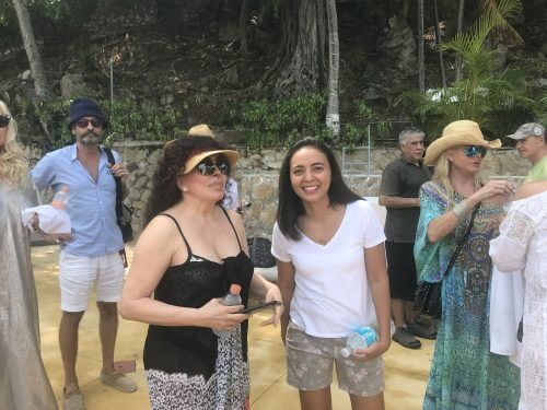 Susana Giménez en Acapulco