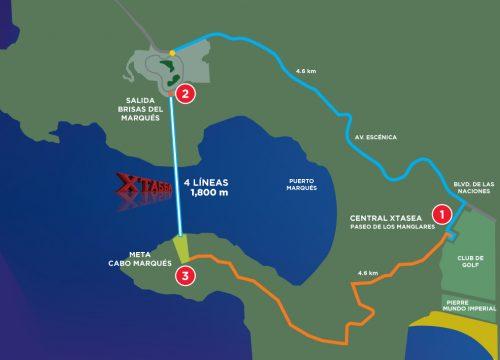 XTASEA Mapa