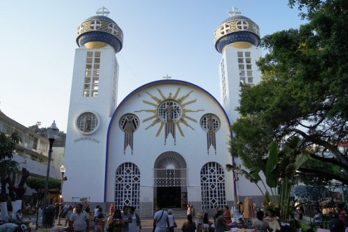 Zócalo Catedral de Acapulco