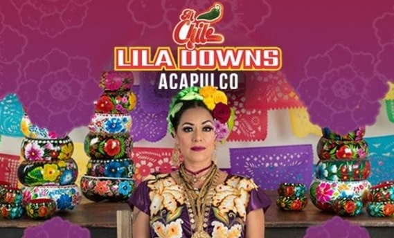 Lila Downs Acapulco Banner